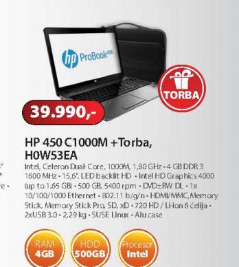 Laptop H0W53EA