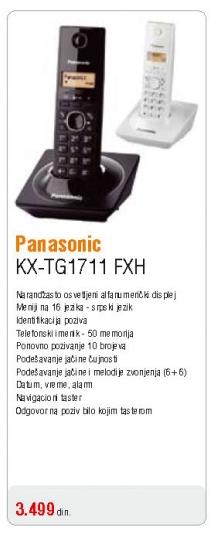 Telefon KX-TG 1711 FXH