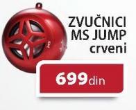 Zvučnici MS Jump crveni