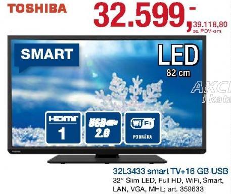 """Televizor LED 32"""" 32l3433"""