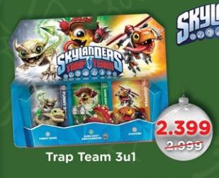 Trap Team 3u1 Skylanders
