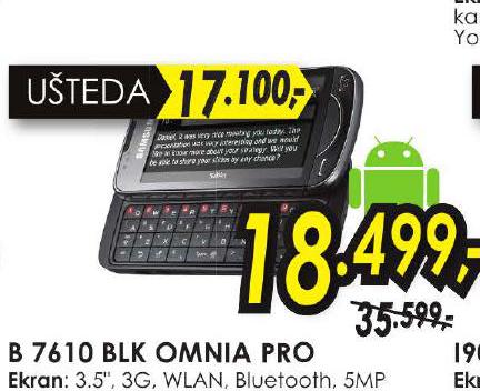 Mobilni Telefon B7610 OMNIA PRO