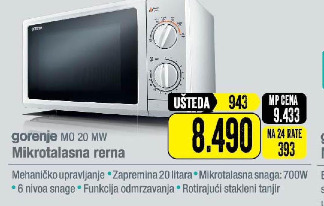 Mikrotalasna MO 20 MW