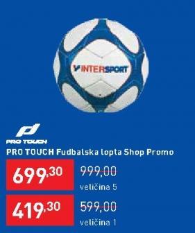 Fudbalska lopta PRO TOUCH