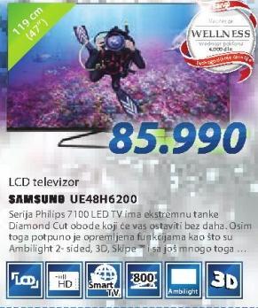 "Televizor LCD 47"" UE48H6200"