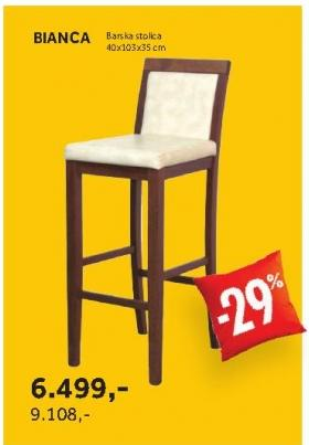 Barska stolica BIANCA