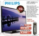 LED Smart Televizor Philips 39PFL3008H/12 + poklon USB 16GB