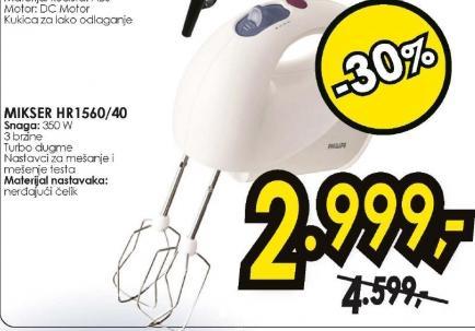 MIKSER HR 1560/40