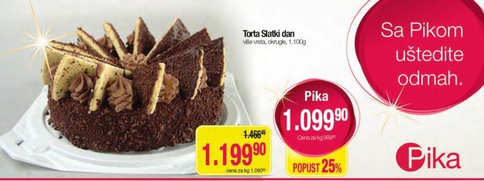 Torta Slatki dan