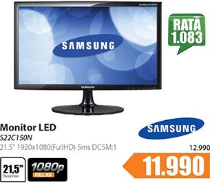 """Monitor 21.5"""" S22C150N LED"""