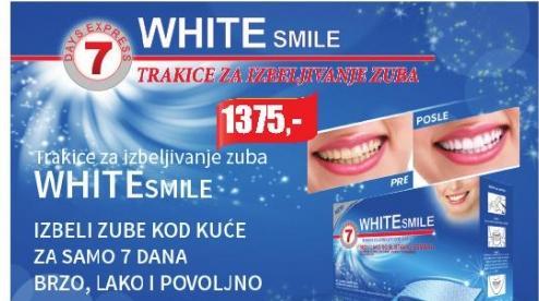 7 White smile