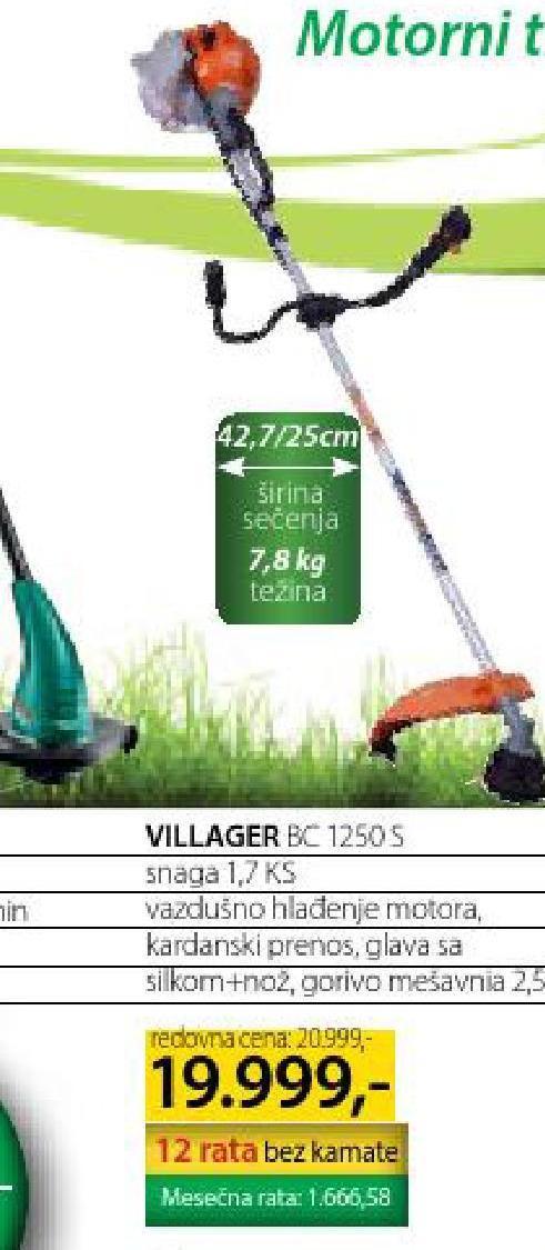 Akcija Merkur - Villager, Motorni Trimer BC 1250 S 613904