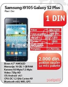 Mobilni telefon i9105 Galaxy S2 Plus