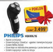 Električni brijač  HQ6906/16