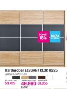 Ormar garderober Harmony Plus KL 3K