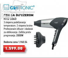 Fen za kosu sa difuzerom HTD 3363