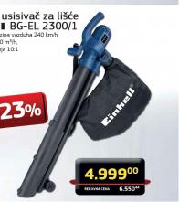 Električni usisivač za lišće BG-EL 2300/1
