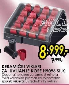 Keramički Vikleri za uvijanje kose H9096