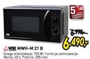Mikrotalasna rerna MWH-M21B