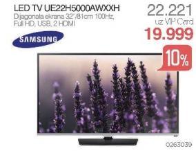 """Televizor LED 22"""" Ue22h5000awxxh"""