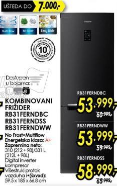 Kombinovani frižider Rb32ferndss