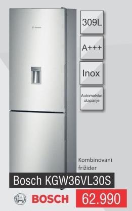 Kombinovani frižider Kgw36vl30s