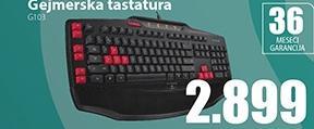 Gejmerska tastatura G103