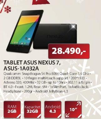 "Tablet 7"" NEXUS"
