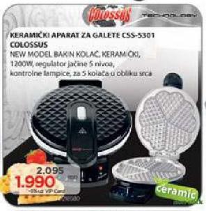 Keramički aparat za galete Css-5301
