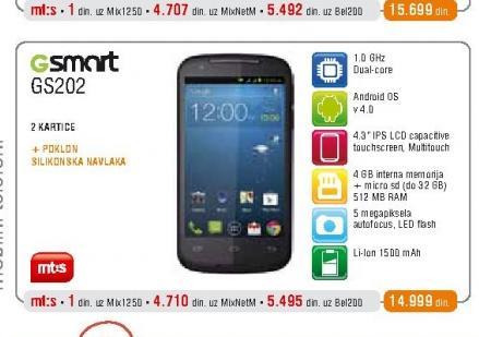 Mobilni telefon GS202