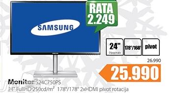 Monitor C24S750PS