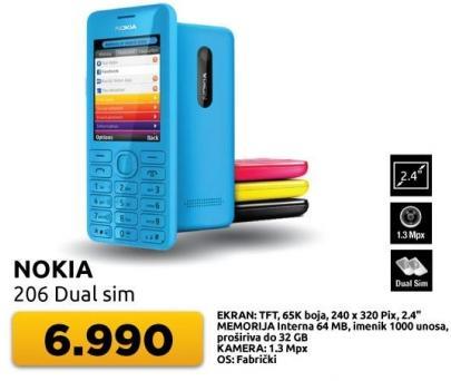 Mobilni telefon 206 Dual sim