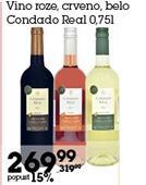 Rose vino Condado Real