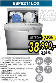 Mašina za pranje posuđa Esf6211lox
