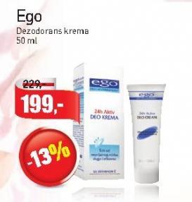 Dezodorans krema Ego