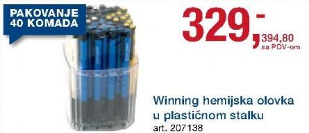 Hemijska olovka Winning