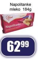 Napolitanke mleko