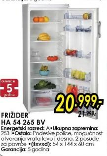 Frižider HA 54 265 BV