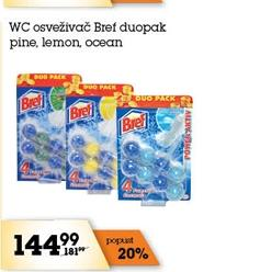 WC osveživač duo active pine fresh