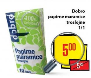 Papirne maramice 3sl
