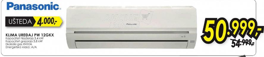 Klima uređaj PW 12GKX
