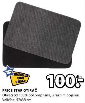 Otirač Price Star