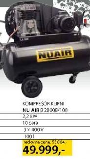 Kompresor B2800b/100 Nu Air