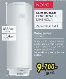 Bojler Tgr50s
