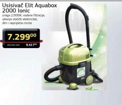 Usisivač Aquabox 2000 lonic