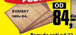 Podmetač za sto Bombay