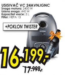 Usisivač VC 24AVNJGNC