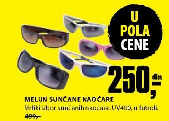 MElun sunčane naočare