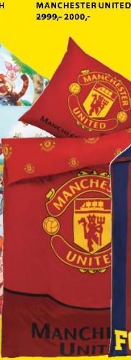 Posteljina Manchester united