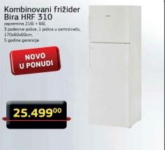 Kombinovani Frižider HFR 310